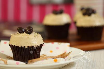 Espresso Cupcakes Using Box Cake Mox