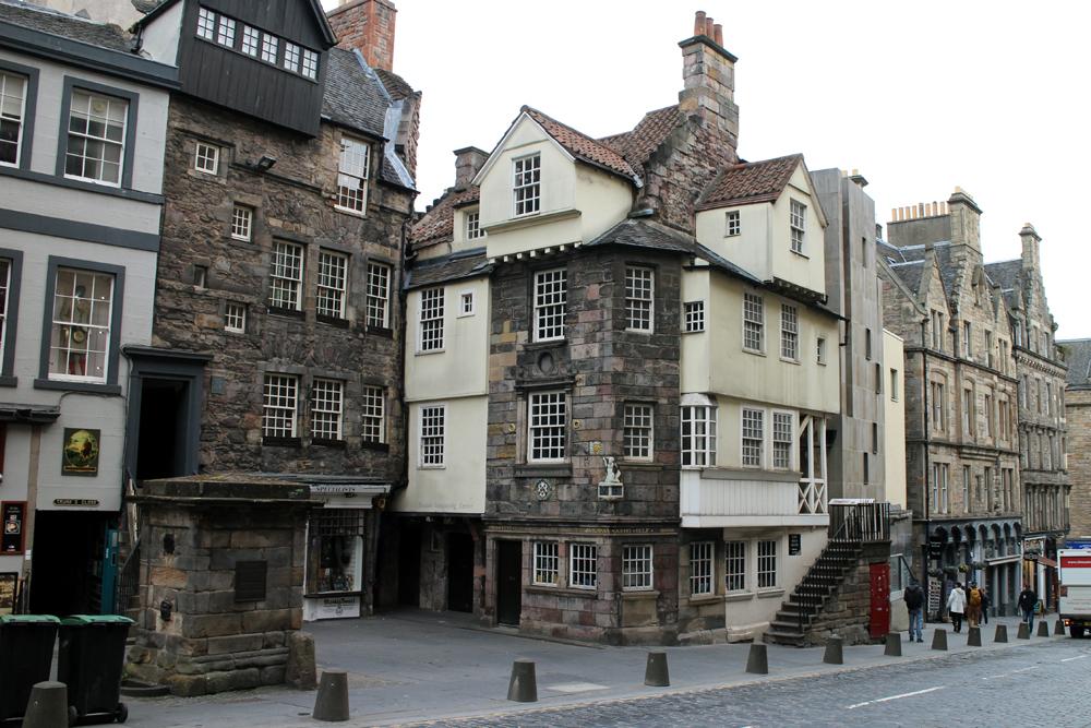 Edinburgh, den gamle by