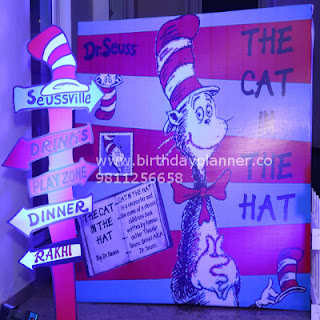 cat in the hat theme party in delhi