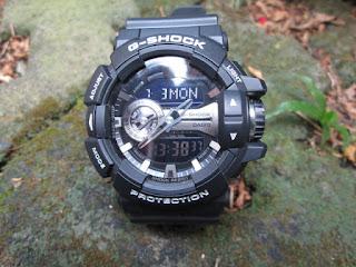 Casio G-Shock GA-400GB-1A Original Seken Seperti Baru