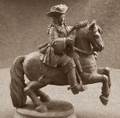 Quinto juego de ajedrez, duque de Malborough, caballo negro