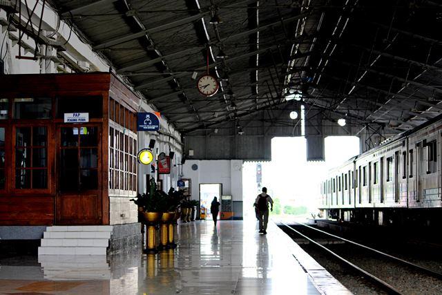 Bagian Dalam Stasiun Bogor ini Jangan Sampai Diubah