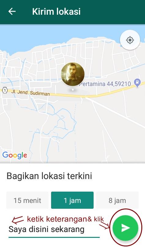kirim lokasi whatsapp terbaru