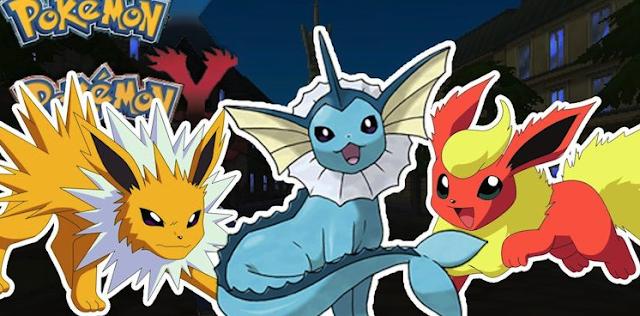 Trick Evolve Eevee Sesuai Element (Air,Listrik,Api) Pokemon Go