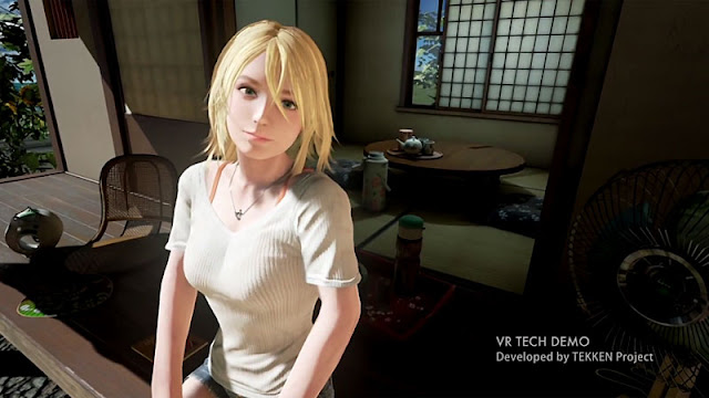 Summer Lesson technical demo screenshot
