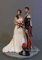 sposini realistici sculture per matrimonio luxury statuette artistiche da foto orme magiche