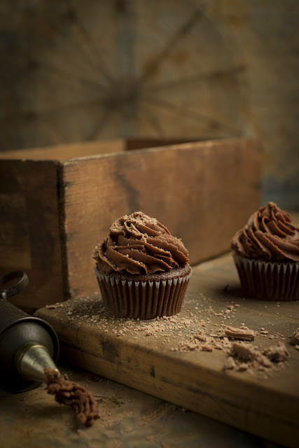 Triple Chocolate Cup Cakes