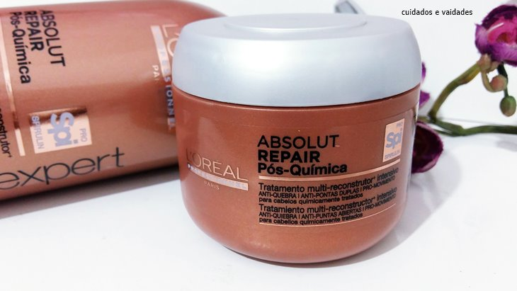 Máscara Absolut Repair Pós Química Loreal