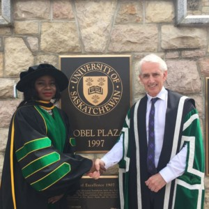 So Inspiring! Nigerian Lady Becomes First Black PhD holder in Biomedical Engineering from Canadian University.