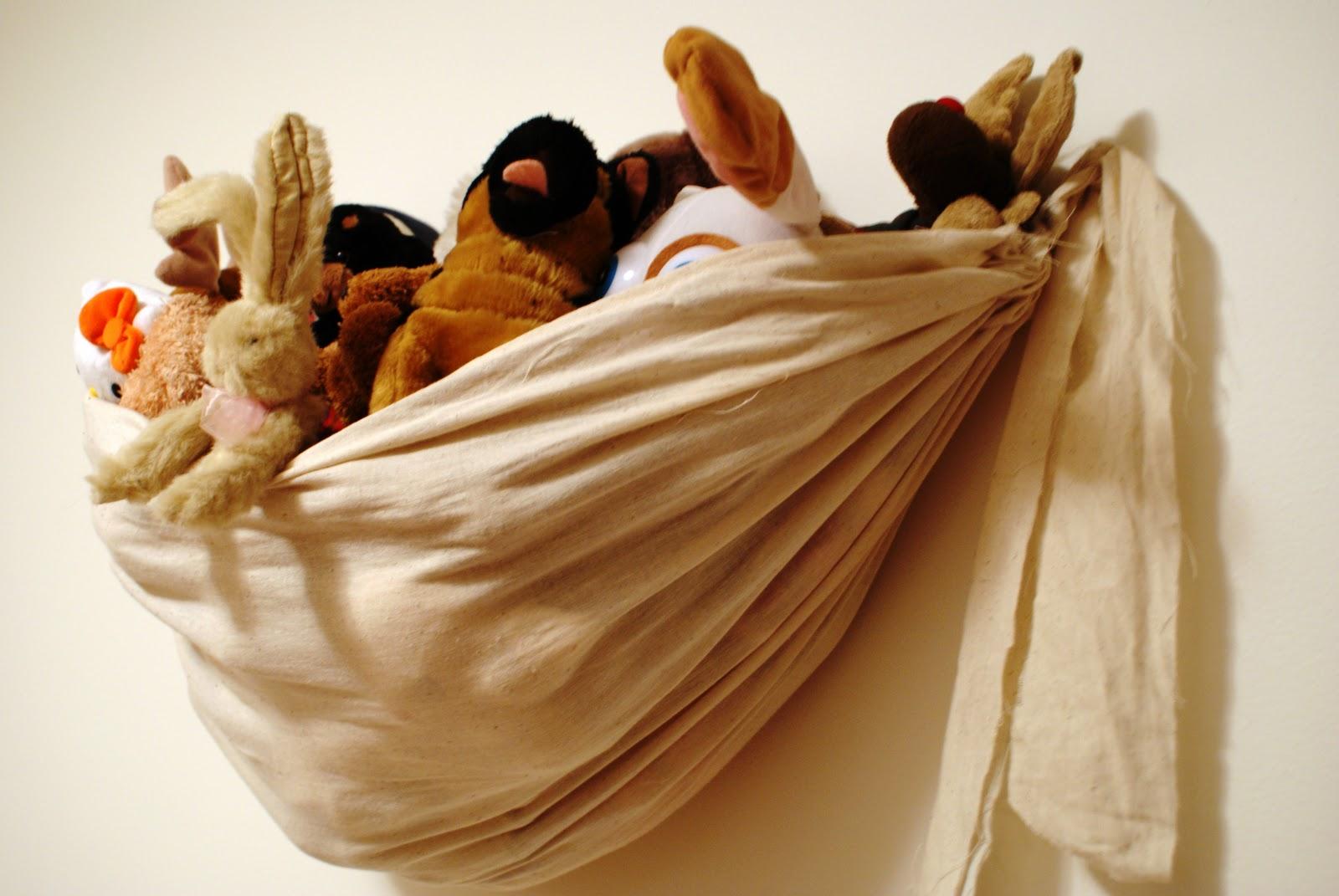 The Better Nester Wall Hanging Stuffed Animal Storage