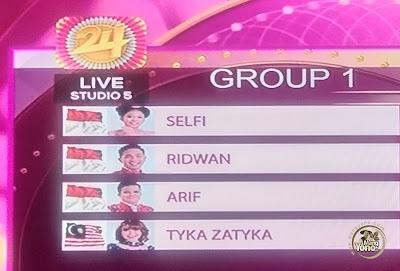 Top 8 Group 1 D'Academy Asia 4 Indosiar