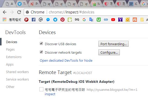 iPhone] iOS Safari 用windows debug
