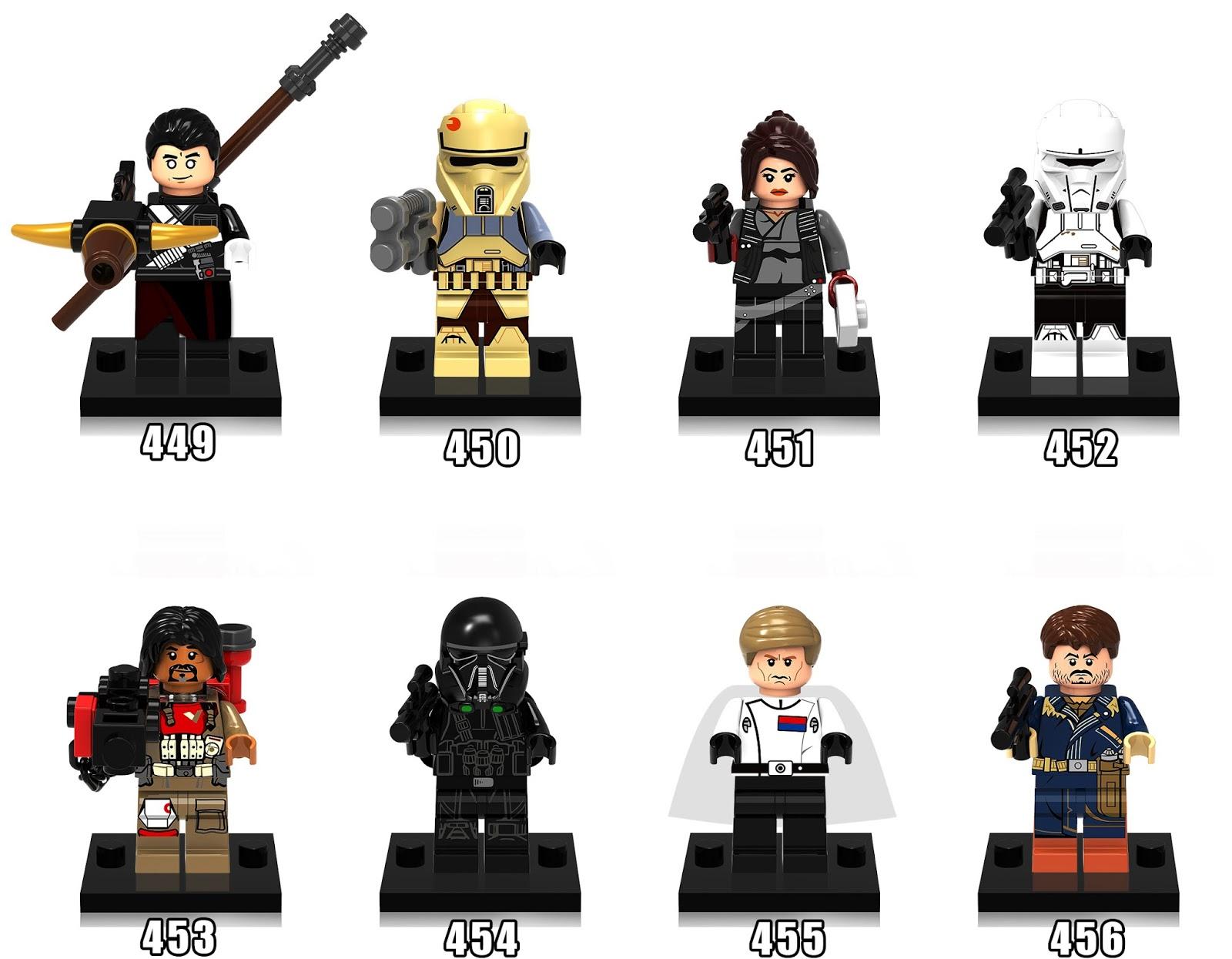 BONECOS LEGO STAR WARS