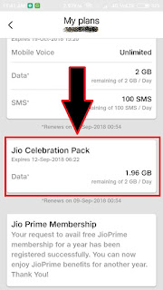 Jio 2 Year Celebration Pack Offer - Get Free 2GB data Daily