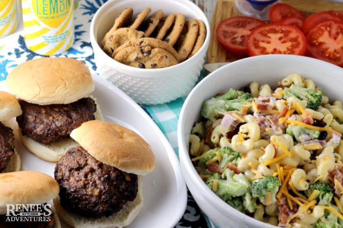 Easy Broccoli Pasta Salad | by Renee's Kitchen Adventures