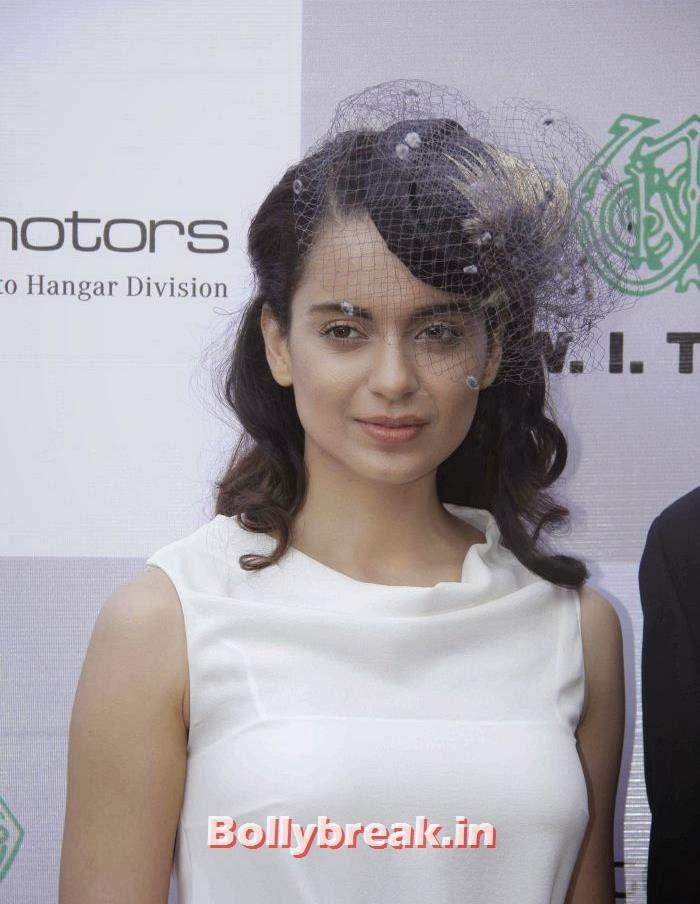 , Kangana Ranaut at Metro Motors Auto Hangar H M Mehta Trophy 2013