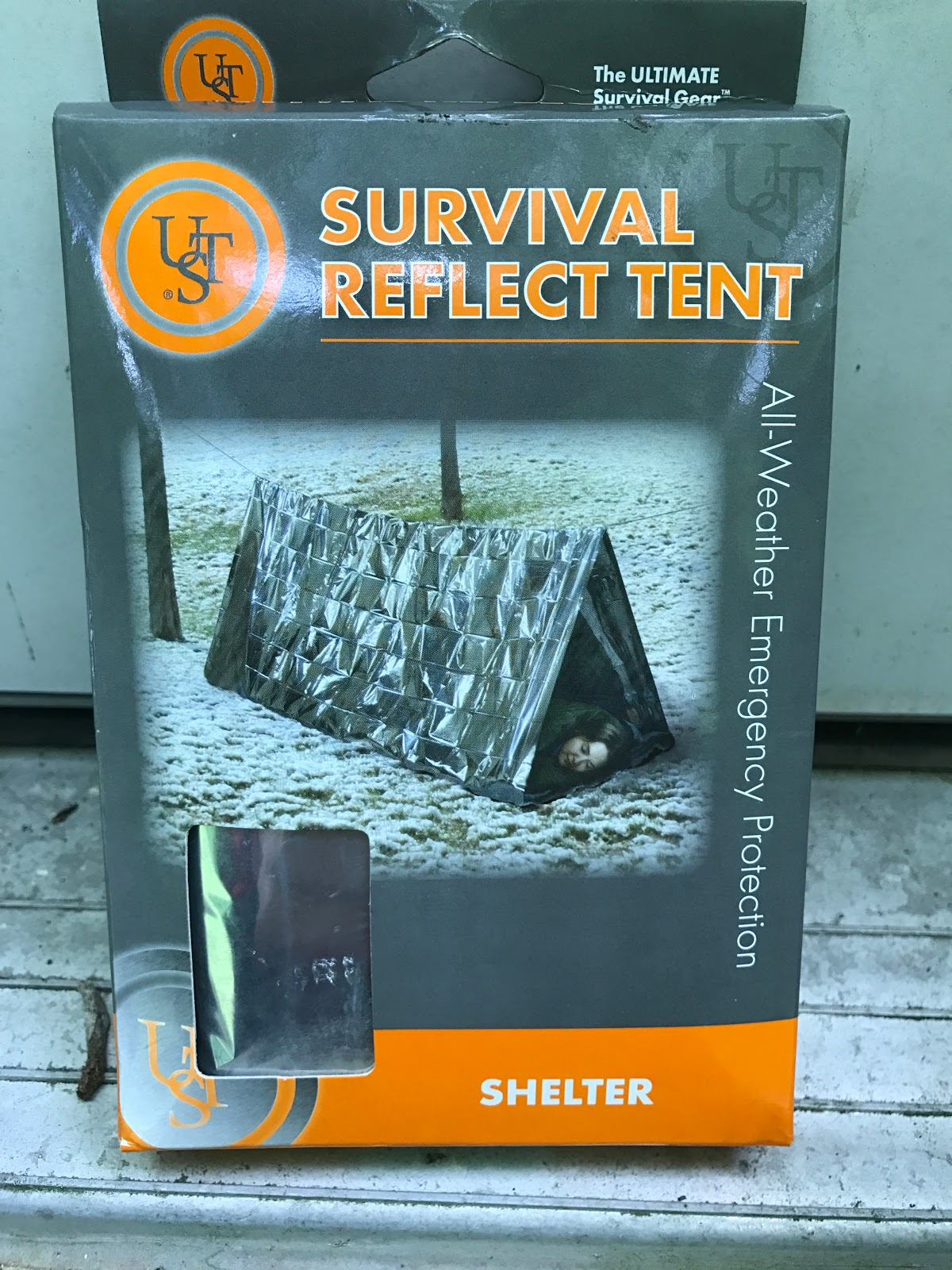 Ultimate Survival Technologies Survival Reflect Blanket All-Weather 6-Pack