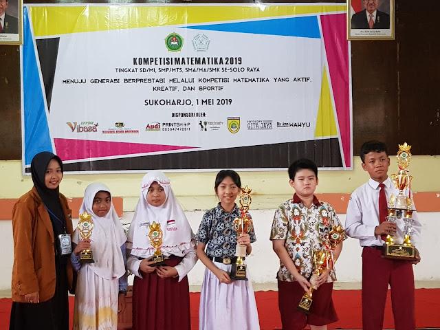 Siswa SKKK Surakarta Berprestasi di KOMAT 2019