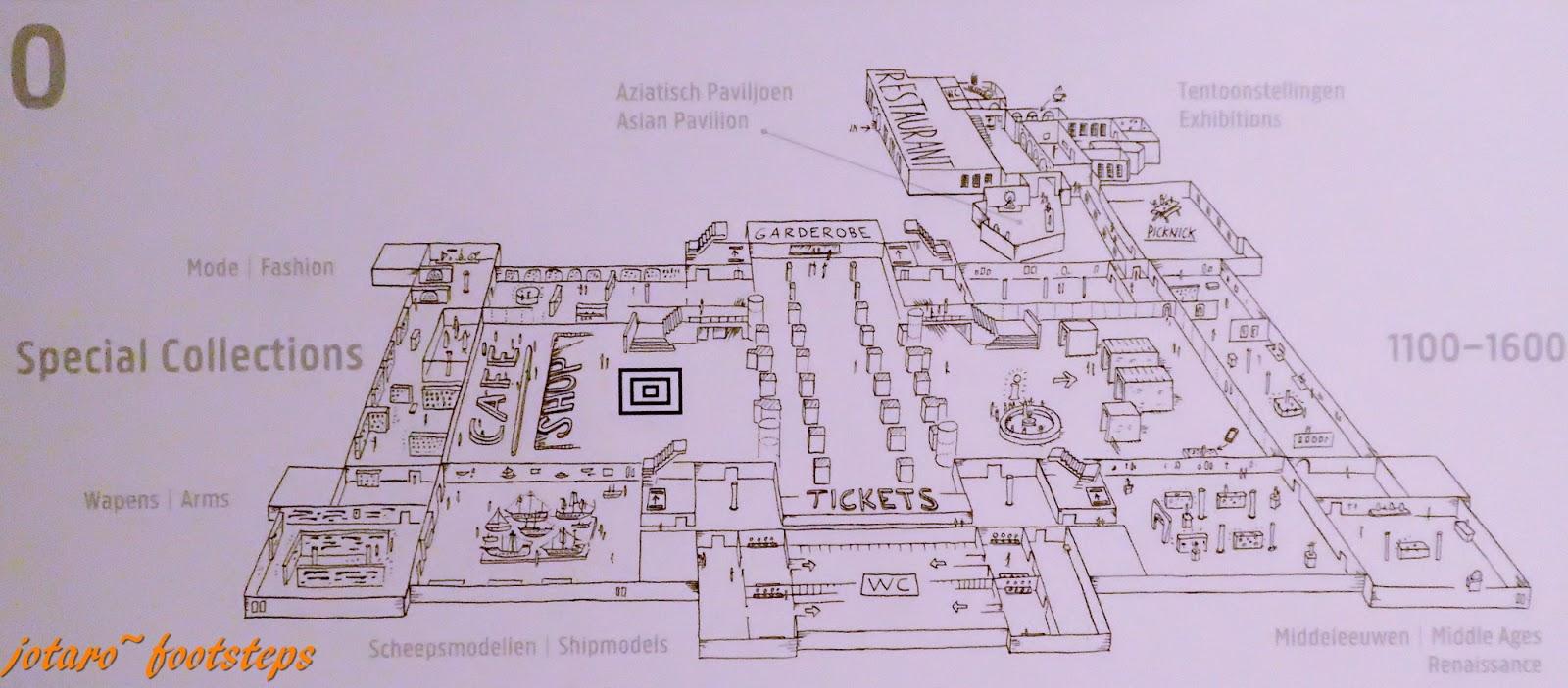 Footsteps jotaro 39 s travels art gallery rijksmuseum for Floor 5 map swordburst 2
