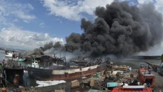 40 Kapal Terbakar di Pelabuhan Benoa Bali, Kerugian Mencapai Ratusan Miliar