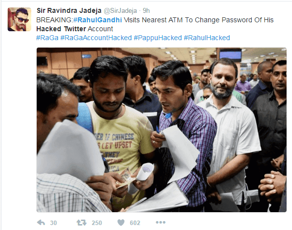 How Social Media Went Crazy When Rahul Gandhi's Twitter Handle Got Hacked - Pics