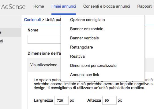 adsense e il formato personalizzato google top contributor