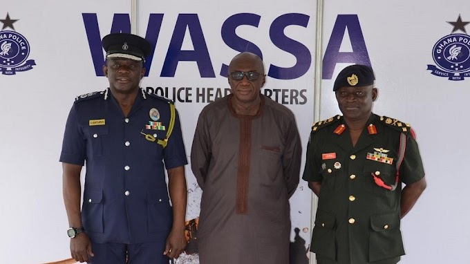 Ghana's security chiefs worried over bloody police-military clash