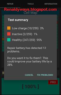 Cara Memperbaiki Sel Baterai Android Yang Lemah Dan Tidak Aktif