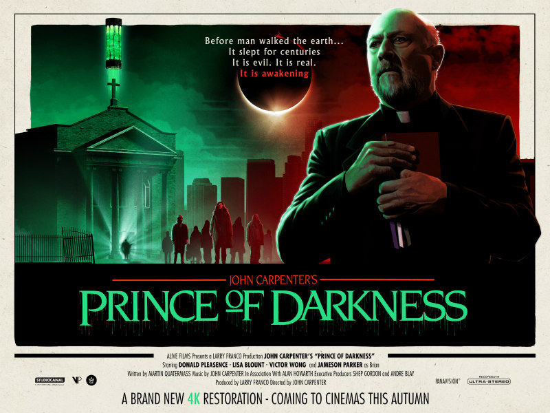 prince of darkness 4k poster