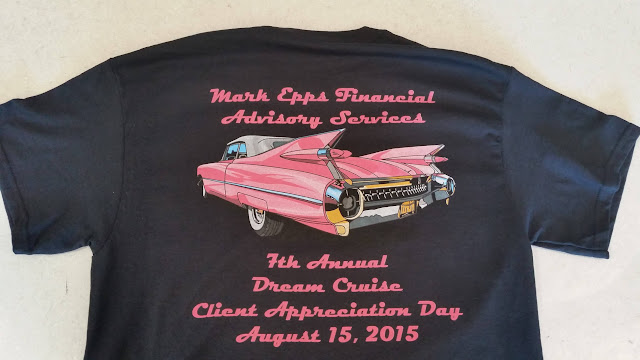 Example Car Show T-Shirt Design for Fundraiser