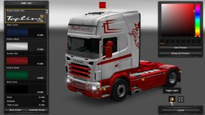Scania RJL Simple Paintable Skin V 2.0