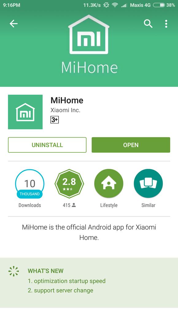 Xiaomi Wifi Amplifier Mi Home