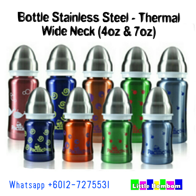Botol Susu Besi @ Stainless Steel @ Thermal