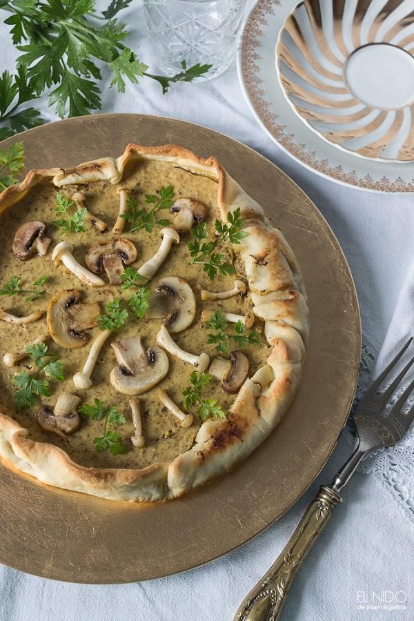 mushrooms cheesecake