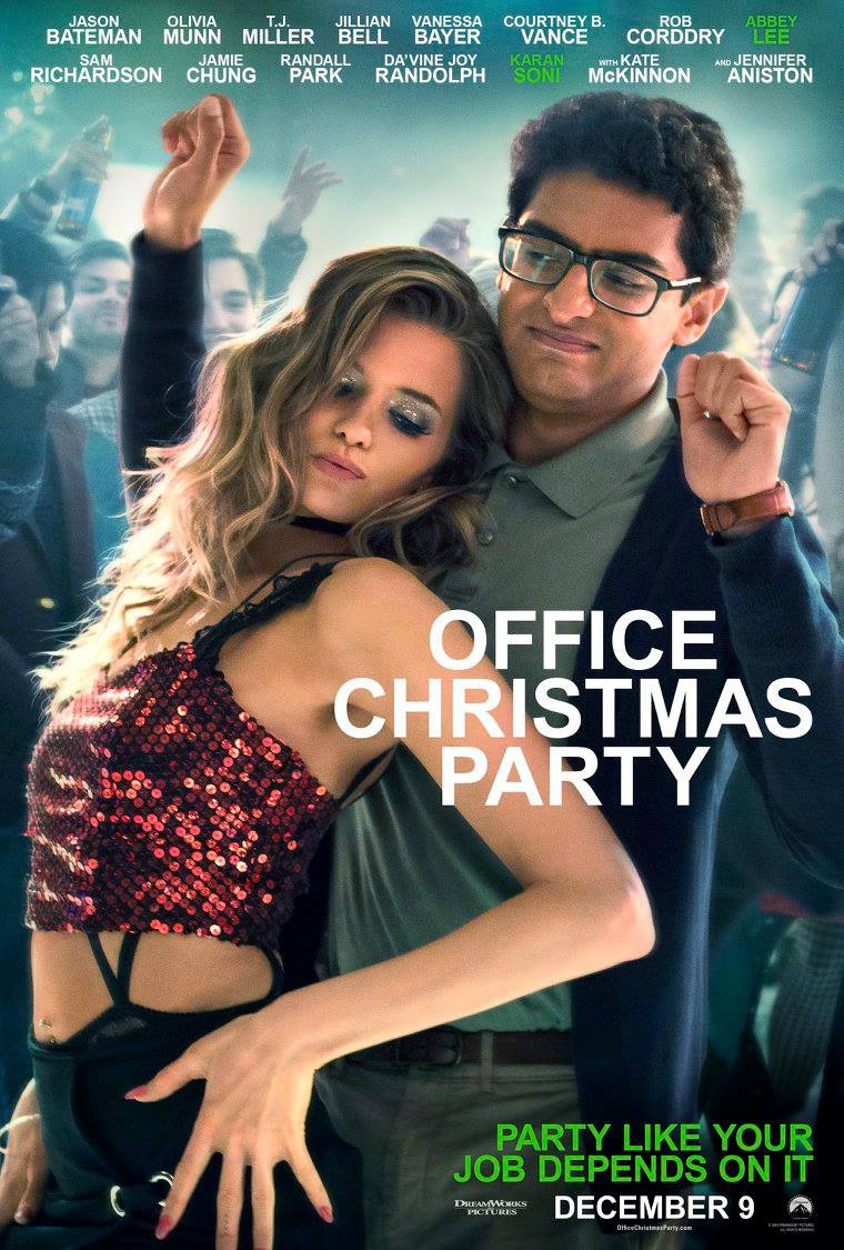 party christmas office lee Abbey kershaw
