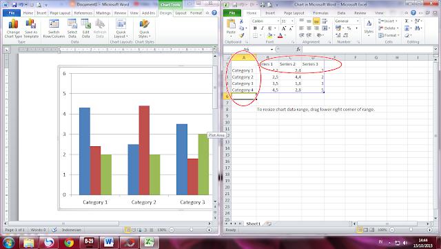 Cara Membuat Diagram Pada Ms Word 2010 - GUDANG MAKALAH