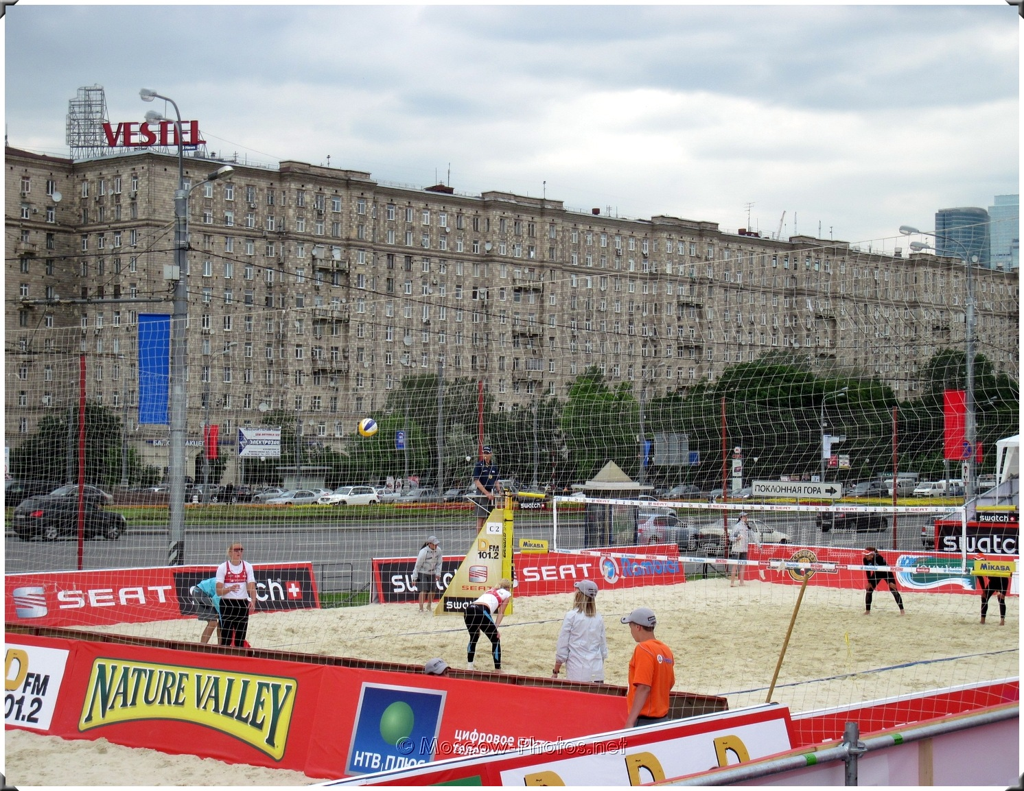 Moscow SWATCH FIVB Beach Volleyball World Tour
