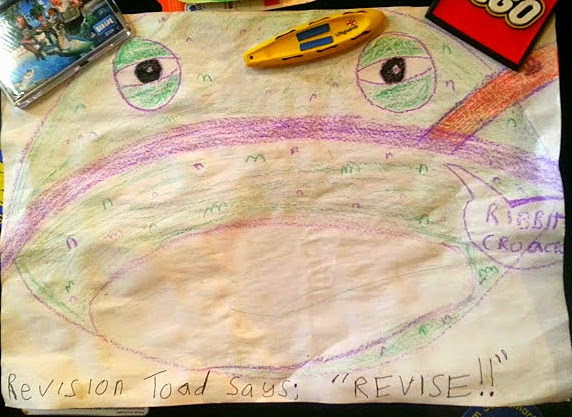 Revision Toad says 'revise'