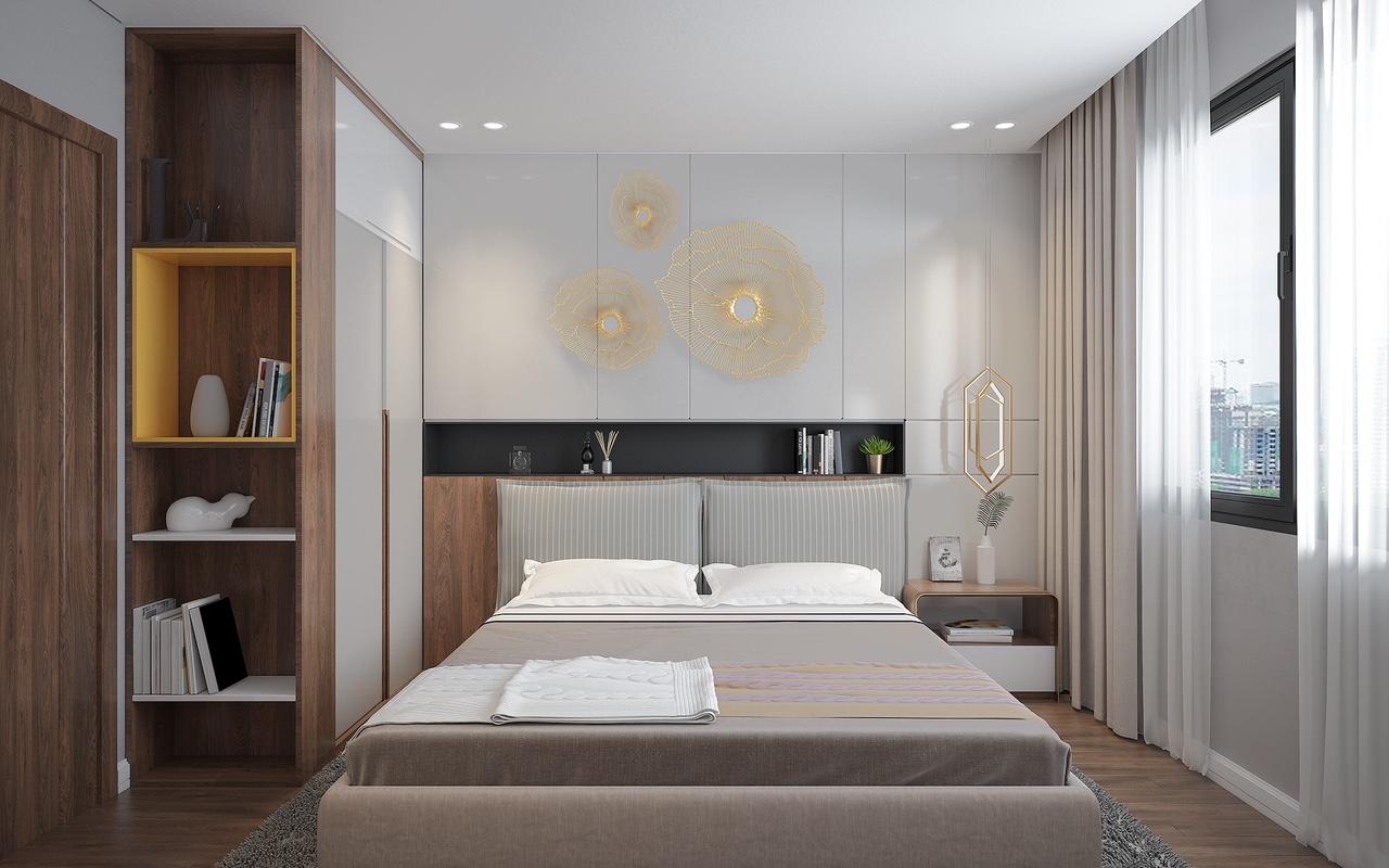 Thiết kế Phòng Ngủ Căn hộ Rivera Park  Hà Nội