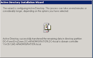 Active Directory Migration from 2003 to 2012 | TechCrumble
