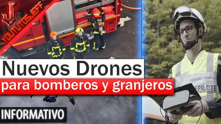 Nuevos drones para bomberos y granjeros - Parrot