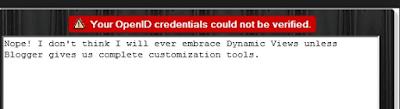 openid error