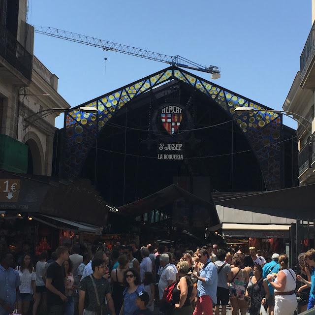 Visite de barcelone la boqueria