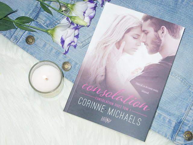 "Recenzja książki ""Consolation"" Corinne Michaels"