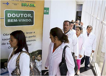 <b>Cuban Doctors In Brazil</b>