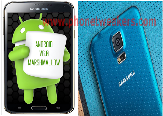 samsung galaxy s5Android 6.0.1 Marshmallow Firmware