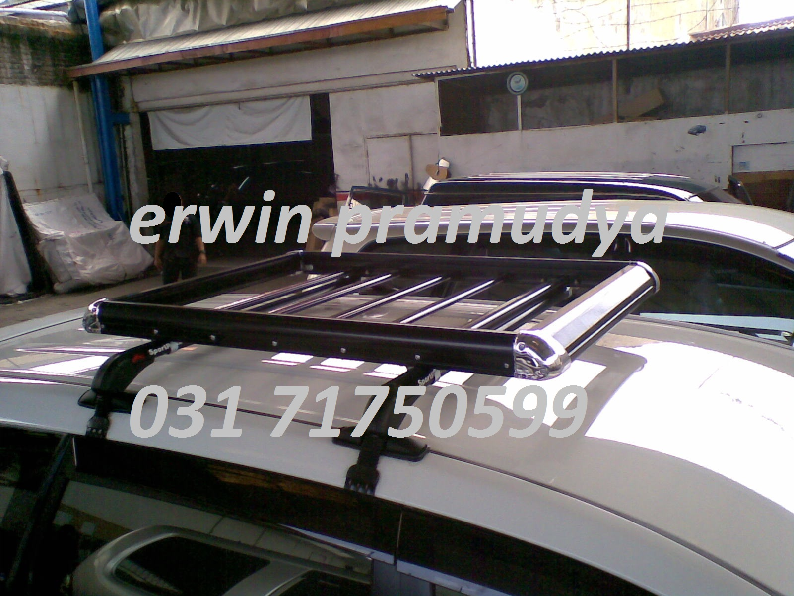 Roof Rail Grand New Avanza Veloz Ukuran Accessories Mobil Surabaya 3m Auto Film Toyota All Roofrack