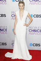 Taylor Swift Red Carpet Dress Cap Sleeves Deep V-neck White Jersey Celebrity Dress