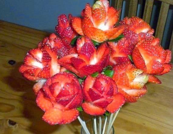 Como hacer arreglos frutales cositasconmesh - Pinas decoradas para centro de mesa ...
