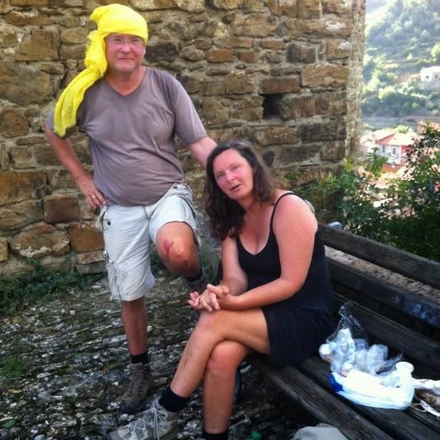Ligurien ist für Wanderer ganz schön anstrengend